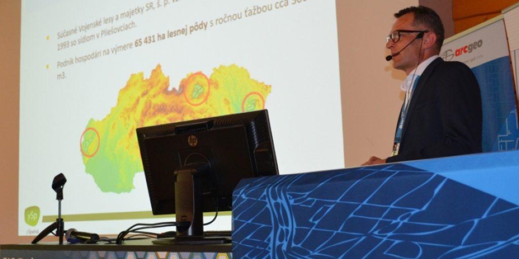 03d085c794 Na celoslovenskej konferencii ESRI sme vystúpili po tretí raz s GIS-om pre Vojenské  lesy a majetky
